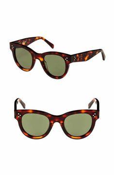 d9417306499b Céline 48mm Cat Eye Sunglasses Latest Sunglasses