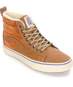 It s adventure time with these Sk8 Hi 46 MTE Hana Beaman women s shoes by  Vans. 90f9dc476