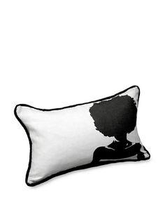 62% OFF AphroChic Silhouette Pillow (Dove)