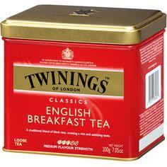 El English Breakfast es un blend de té que se obtiene de la mezcla de varios tés negros. Generalmente dicha mezcla se obtiene al combinar tés negros provenientes de Assam, Ceylon, Kenia y a veces Keemun.