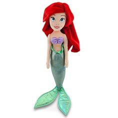 Plush Ariel Doll -- 21 1/2'' H