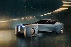 De Rolls-Royce van de toekomst - wonen voor mannen - toekomst, auto, concept, luxe, mobiliteit, rolls-royce