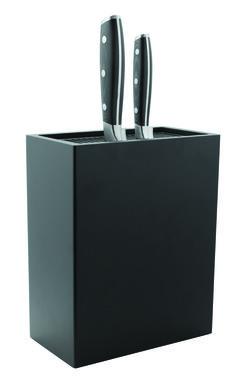 Rockingham Forge knife block - universal black knife block