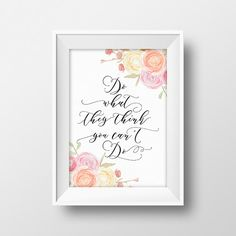 Inspirational Wall Decor make today amazing quote print wreath printable watercolor art