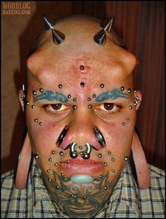 The Worlds Worst Body Piercings