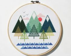 Cross Stitch Patterns & Tutorials – Etsy