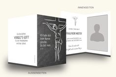 druckkarten.com - Trauerkarten online gestalten und drucken Notebook, Coffee, Drinks, Prayer, Printing, Cards, Drinking, Beverages, Drink