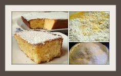Πως να φτιάξεις νηστίσιμο κέικ με ινδοκάρυδο! | ediva.gr Pastry Cake, Pos, Vanilla Cake, Cake Recipes, Lemon, Food And Drink, Sweets, Cooking, Desserts