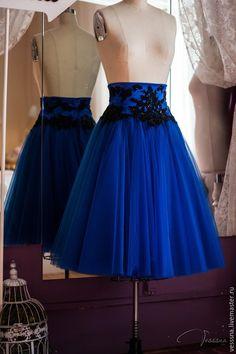 """Купить Юбка из фатина """"Вечерняя"""" - юбка из фатина, юбка из сетки, юбка пачка, пышная юбка"""