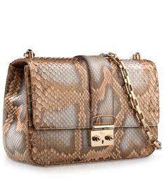 Bronze pearlised python Miss Dior bag