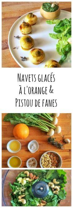 Recette printanière de navets glacés à l'orange - vegan, sans gluten
