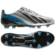 F50 adiZero TRX FG - Leather - (Metallic Silver/Blue/Black) @ $153.00 - $159.90