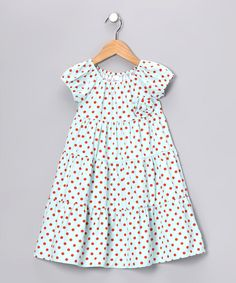Aqua Tiered Dress - Infant, Toddler & Girls #zulily and #fall