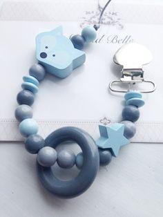 Ciuccio catena ciuccio clip porta ciuccio neonato di MeAndBelle00