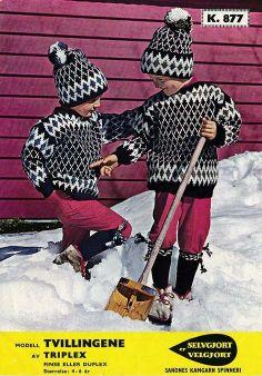Norwegian Knitting, Vintage Knitting, Sorting, Knits, Knitting Patterns, Punk, Crafts, Beauty, Style