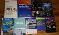 Verkaufe 9 Bücher aus der Kategorie  Finanz Wissen