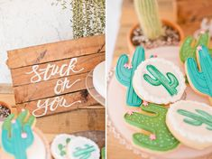 Cactus Bridal Shower and could be baby shower