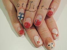 Japaness nail art atelier + LIM  #nail #nailart