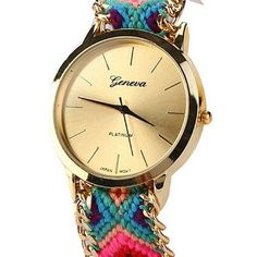 cool ® New Women Knitted Braided Weaved Rope Band Bracelet Quartz Dial Wrist Watch - For Sale Check more at http://shipperscentral.com/wp/product/new-women-knitted-braided-weaved-rope-band-bracelet-quartz-dial-wrist-watch-for-sale-2/