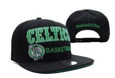 NBA Boston Celtics Snapback Black ID:6745