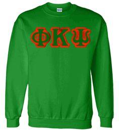 $30 Phi Kappa Psi Custom Twill Crewneck Sweatshirt