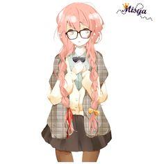 Render megurine luka lunette tresse - Vocaloid - Musiques - PNG image... ❤ liked on Polyvore