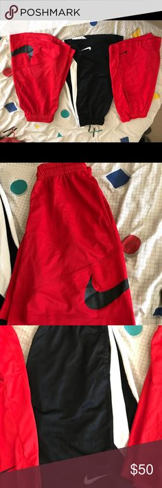 Nike basketball shorts Fairly new nike basketball shirts they all should be a large. Nike Shorts Athletic