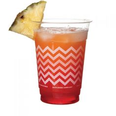 Greenmunch - Clear Compostable Party Cup - Chevron, $15.00 (http://www.greenmunch.ca/compostable-dinnerware/cold-cups/clear-compostable-party-cup-chevron/)