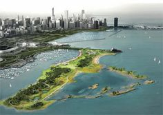 Chicago to expand camping at Northerly Island  Programs will expand as lakefront park is renovated over next two years