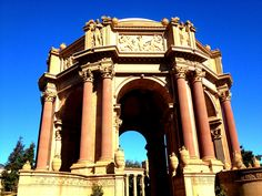 Palace of Fine Arts, SF CA, October 2012