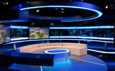 Resultado de imagen para tv set studio design