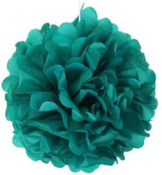 Peacock Green Tissue Paper Pom Pom 12inch TPP120098 Just Artifacts Brand by JustArtifactsStore on Etsy https://www.etsy.com/listing/226471509/peacock-green-tissue-paper-pom-pom