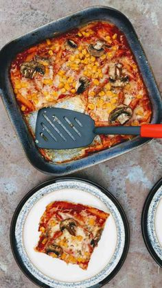 Slimming World Syn Free Frittata Leftover Pasta Pizza Recipe - Tastefully Vikkie