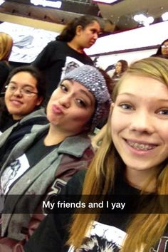 When Lolli, Paola and I were at the hockey game 11-19-14