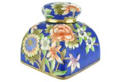 Antique Noritake Hand-Painted Inkwell on OneKingsLane.com