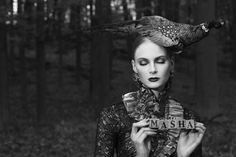 Odalisque Magazine Photo: Stefan Holm Hair & Make-up: Kim Ikonen Jennings Styling: Merilin Kermas Mardo #fashion, makeup, classy, dramatic, dark lips
