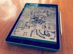 iPad apps to check out (article about using iPad Pro + stylus instead of Wacom)