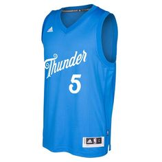 653b2ec2e957 Victor Oladipo OKC Thunder NBA Adidas Blue 2016 Christmas Swingman Jersey