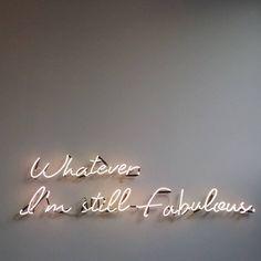 Be Fabulous!