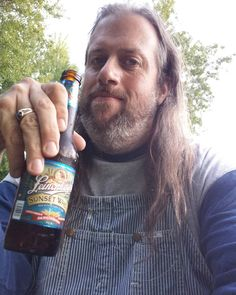 Labor Day is winding down which means that MY FAVORITE TIME OF YEAR IS STARTING! #huzzah #beer #overalls #vintage #Lee #HickoryStripe