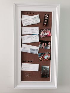 Creative way to cover the circuit breaker, with a cork board
