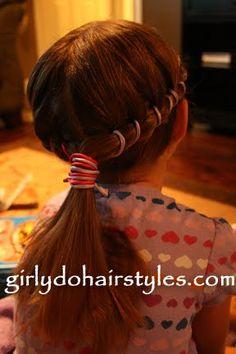 Girly Do's By Jenn: 10 Optional Ponytail Hair Do's