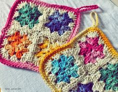 Be Makes: Potholders are the best ♡. Free pattern/chart.