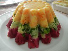 Anne Mutfak Perisi: Üç Renkli Salata