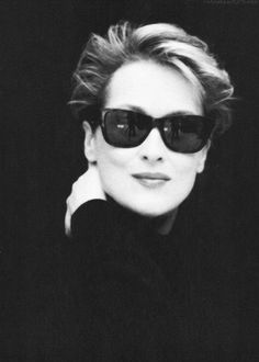 Meryl Streep con #gafasdesol #celebrities #eyewear