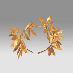 Greek (Macedonian)                 (Hellenistic Period, 323 – 30 B.C.)            Olive Wreath4th–3rd century B.C.