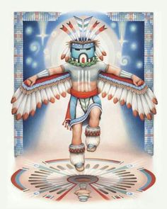 """HOPI PROPHECY..."""" WHEN THE BLUE STAR KACHINA MAKES ITS APPEARANCE IN THE HEAVENS, THE FIFTH WORLD WILL EMERGE."""""""