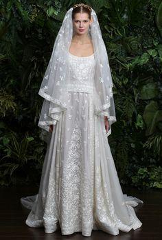 "Brides.com: Naeem Khan - 2014. ""Casablanca"" wedding dress, Naeem Khan"
