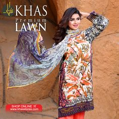 Planning for a light yet elegant look for the evening?  This 4 piece Lawn suit is just what you need! Shop online:https://goo.gl/paJIt5 Code: Imperial - KC 001-A For price and purchase, please visit your nearest KHAS store or our website www.khasstores.com