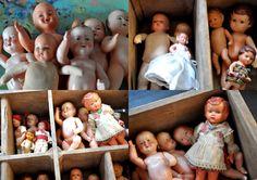 poupées anciennes,jouets de collections